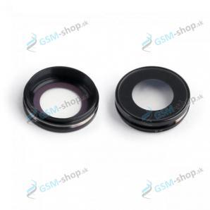 Sklíčko kamery iPhone 6 Plus, 6s Plus a rám čierny OEM