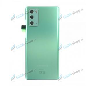 Kryt Samsung Galaxy Note 20 (N980) batérie zelený Originál
