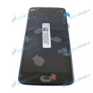 LCD Motorola Moto E4 (XT1761, XT1762) dotyk s krytom modrým Original
