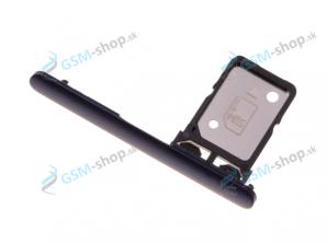 SIM držiak Sony Xperia 10 modrý Originál