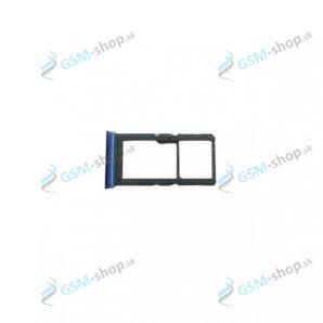 Sim a SD držiak Motorola Moto G9 Plus (XT2087) modrý Originál