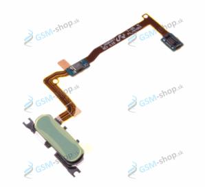 Flex Samsung Galaxy Alpha G850F a home tlačidlo modré Originál