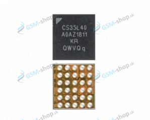 SMD obvod Samsung A600, G970, G973, G975 pre audio Originál