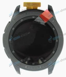 LCD Samsung Galaxy Watch 42 mm (R810, R815) a dotyk čierny Originál