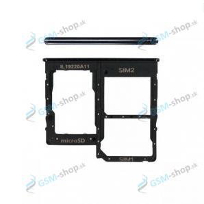 SIM a SD držiak Samsung Galaxy A31 (A315) čierny Originál