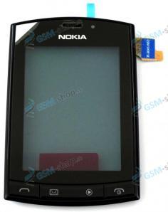 Kryt Nokia Asha 303 predný a dotyk Originál
