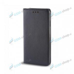Púzdro Huawei P8 Lite knižka magnetická čierna
