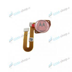 Flex Motorola Moto G9 Play (XT2083) a snímač odtlačku ružový Originál