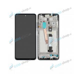 LCD displej Xiaomi Poco X3 a dotyk s krytom čiernym Originál