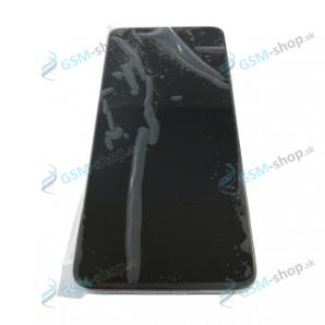 LCD displej Xiaomi Mi 10T, Mi 10T Pro a dotyk s krytom strieborným Originál