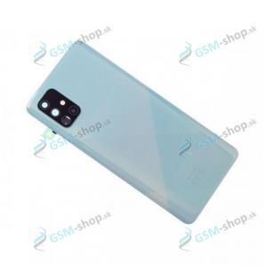 Kryt Samsung Galaxy A71 (A715) batérie modrý Originál