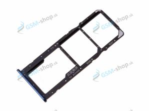 Sim a Micro SD držiak Huawei Y7 2018, Y7 Prime 2018 modrý Originál