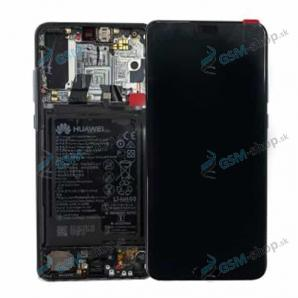 LCD Huawei Mate 20 X a dotyk s krytom strieborným Originál