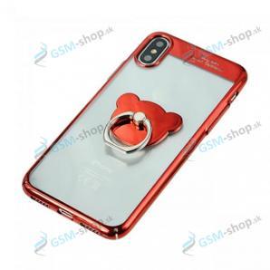Púzdro iPhone X, iPhone XS Sulada s úchytkou červené