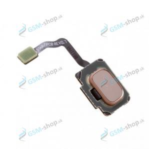 Flex so senzorom odtlačku prsta Samsung S9, S9 Plus a tlačítko zlaté Originál
