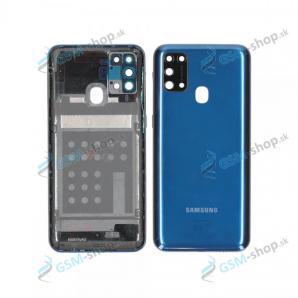 Kryt Samsung Galaxy M31 (M315) batérie modrý Originál