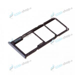 SIM a SD držiak Samsung Galaxy A71 (A715) čierny Originál