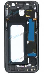 Stred Samsung Galaxy A5 2017 A520F čierny Originál