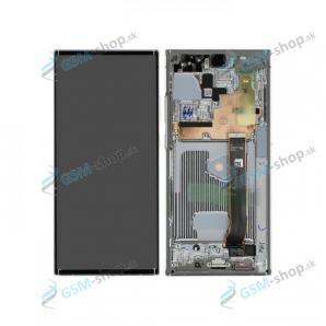 LCD displej Samsung Galaxy Note 20 Ultra 5G (N986) a dotyk biely s krytom Originál
