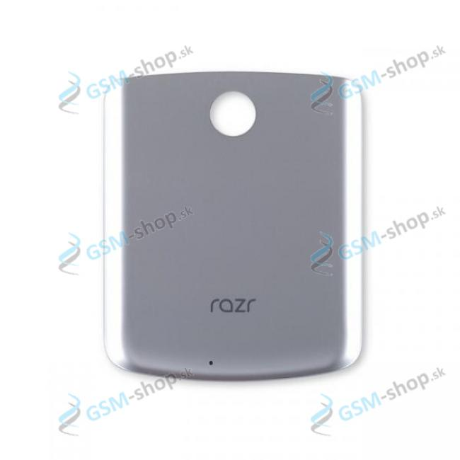 Kryt Motorola Razr 5G (XT2071) zadný strieborný Originál