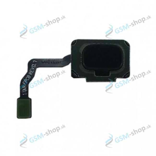 Flex so senzorom odtlačku prsta Samsung S9 a tlačítko čierne Originál