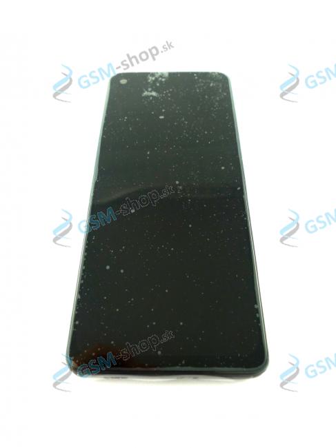 LCD Lenovo Motorola One Vision a dotyk s krytom čiernym Originál