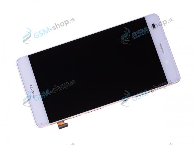 LCD displej Huawei P8 Lite a dotyk s krytom bielym Originál