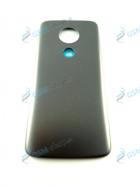 Kryt Lenovo Moto E5 zadný šedý Originál