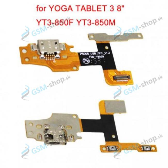 Flex Lenovo Yoga Tab 3 8 YT3-850L pre nabíjanie OEM