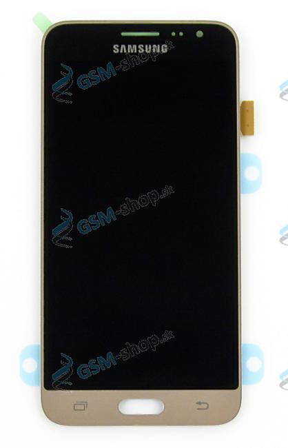 LCD Samsung Galaxy J3 2016 J320F a dotyk zlatý Originál