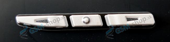 Bočné tlačidlá Nokia E71 biele