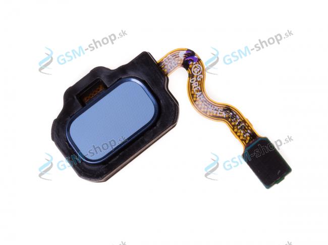 Flex Samsung G950F, G955F a home tlačidlo strieborné Originál