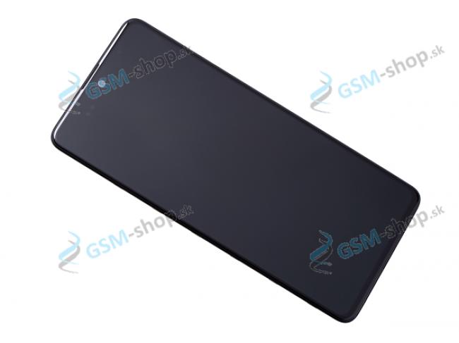LCD displej Samsung Galaxy A51 (A515F) a dotyk čierny s krytom Originál