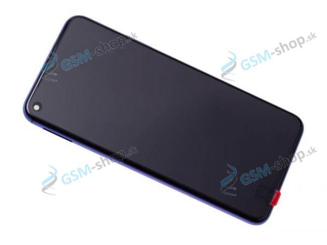 LCD displej Huawei Honor 20, Nova 5T a dotyk s krytom modrým Originál