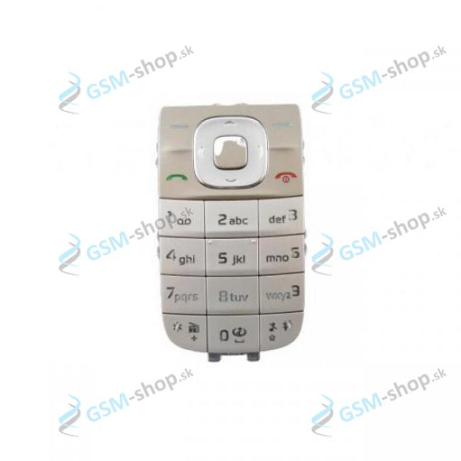 Klávesnica Nokia 2760 zlatá Originál