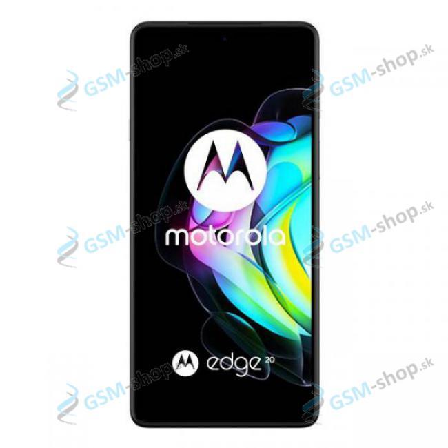 LCD displej Motorola Edge 20 (XT2143) a dotyk s krytom šedým Originál