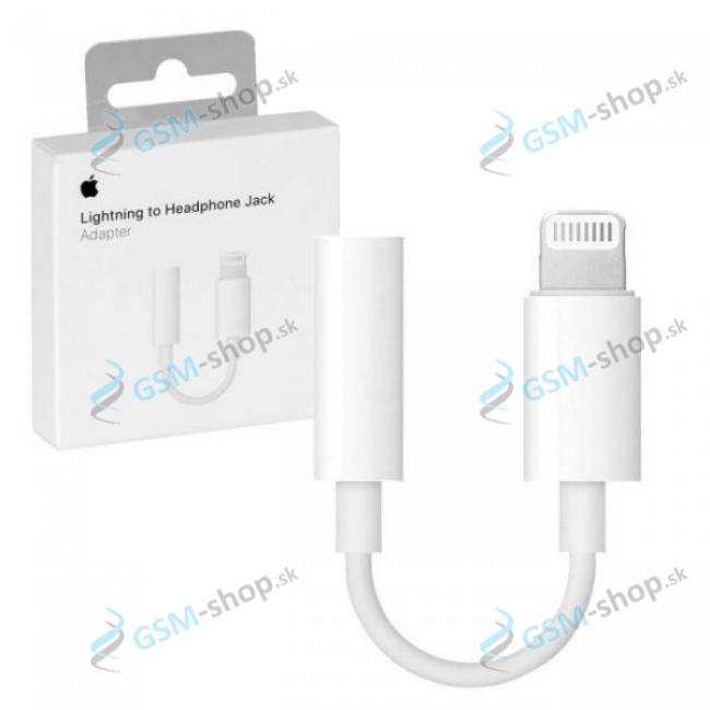 Audio adaptér MMX62ZM iPhone Lightning a 3,5mm biely blister Originál