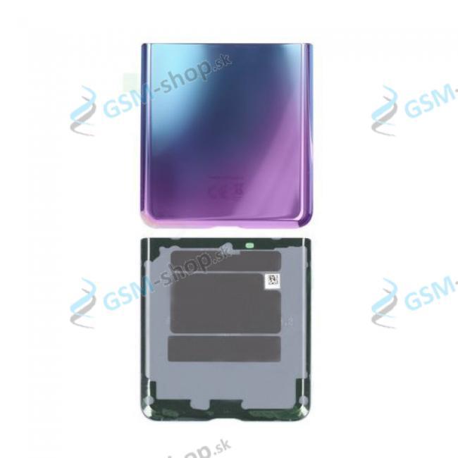 Kryt Samsung Galaxy Z Flip (F700) zadný spodný fialový Originál