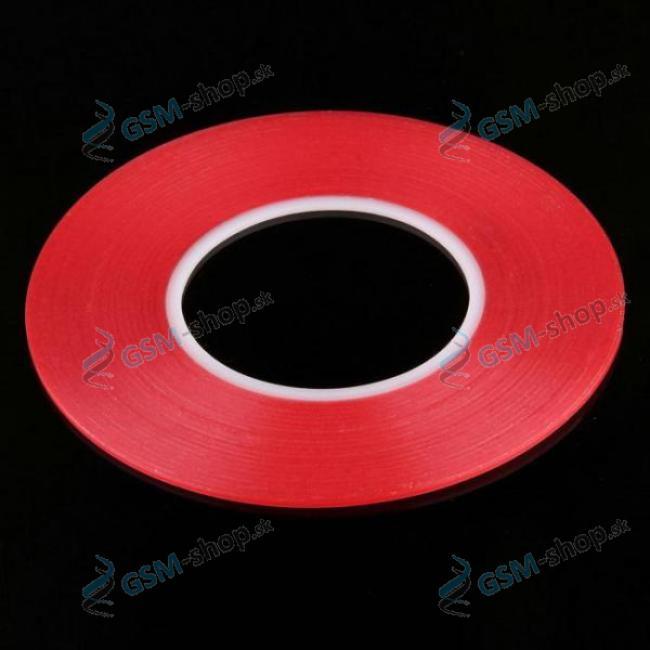 Obojstranná lepiaca páska Magic Red 10 mm priehľadná