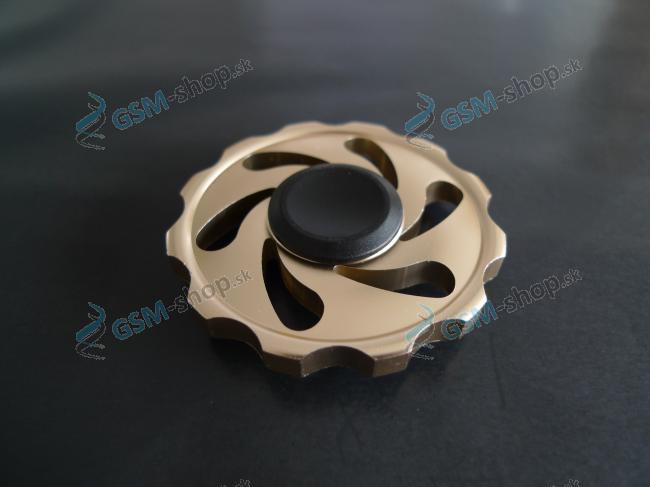Fidget Spinner kovový S6 zlatý