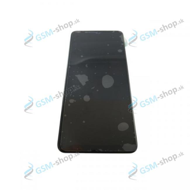 LCD displej Samsung Galaxy M12 (M127) a dotyk čierny s krytom Originál