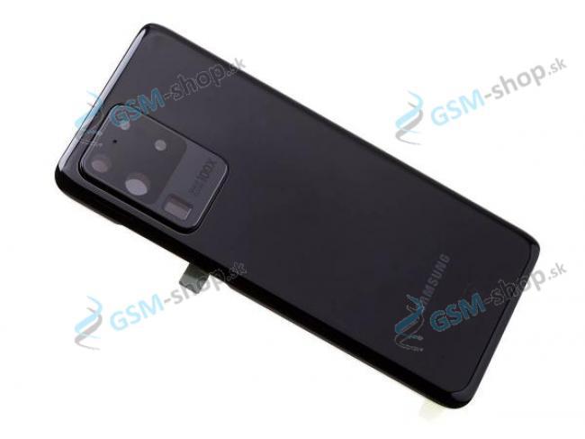 Kryt Samsung Galaxy S20 Ultra (G988) batérie čierny Originál