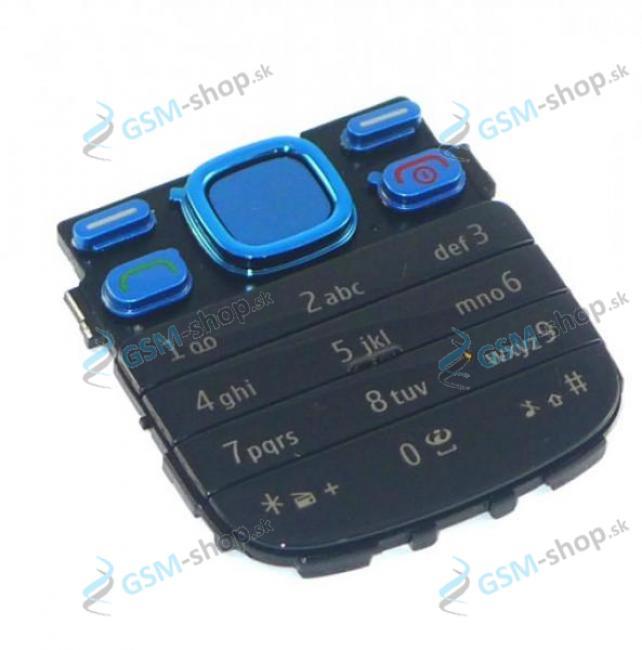 Klávesnica Nokia 2690 modrá Originál