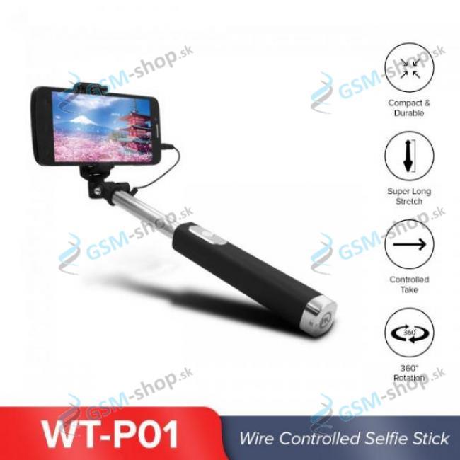 Selfie držiak WT-P01 čierny