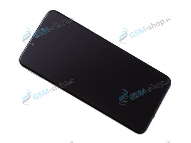 LCD Huawei Nova 3 a dotyk s krytom modrým Originál