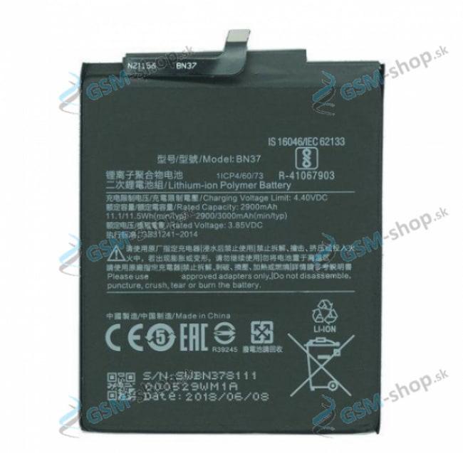 Batéria Xiaomi BN37 pre Xiaomi Redmi 6, Redmi 6A Originál