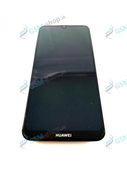 LCD Huawei Y7 2019 a dotyk s krytom čiernym Originál