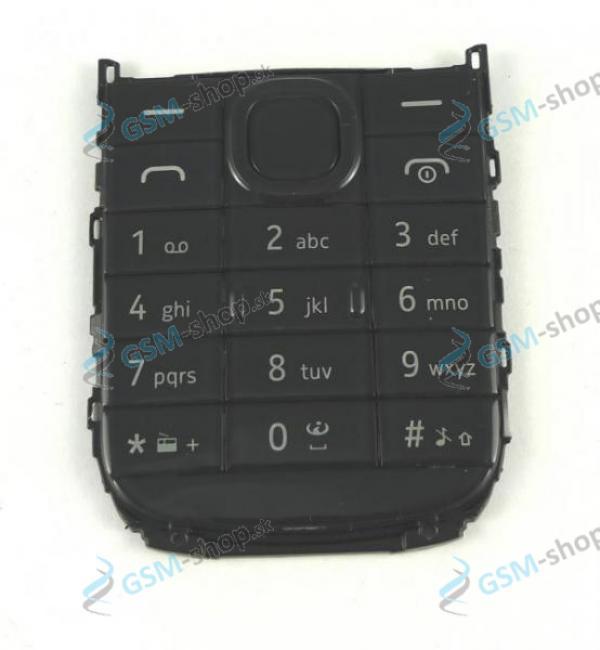 Klávesnica Nokia 109 čierna Originál