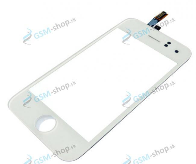 Sklíčko iPhone 3GS biele a dotyková plocha