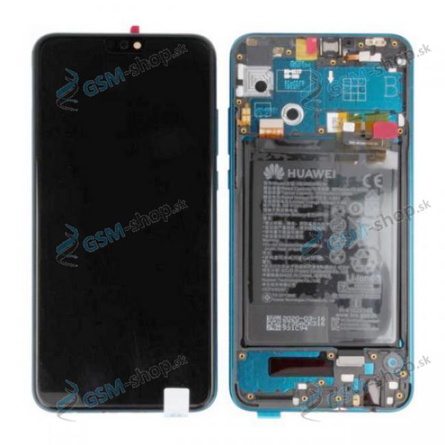LCD displej Huawei Honor 9X Lite a dotyk s krytom zeleným Originál